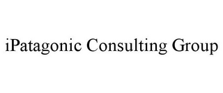 mark for IPATAGONIC CONSULTING GROUP, trademark #85443659
