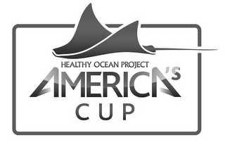 mark for HEALTHY OCEAN PROJECT AMERICA'S CUP, trademark #85444582
