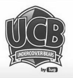 mark for UCB UNDERCOVER BEARS BY LUG, trademark #85444781