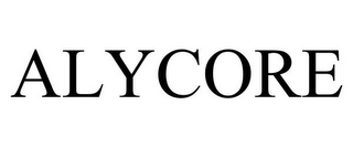 mark for ALYCORE, trademark #85444850