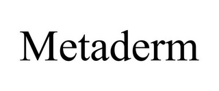 mark for METADERM, trademark #85445003