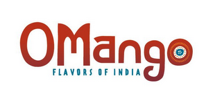 mark for OMANGO FLAVORS OF INDIA, trademark #85445080