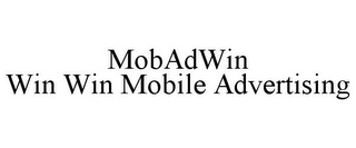 mark for MOBADWIN WIN WIN MOBILE ADVERTISING, trademark #85445124