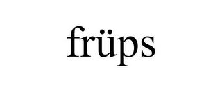 mark for FRÜPS, trademark #85445699