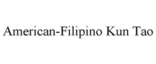 mark for AMERICAN-FILIPINO KUN TAO, trademark #85446018
