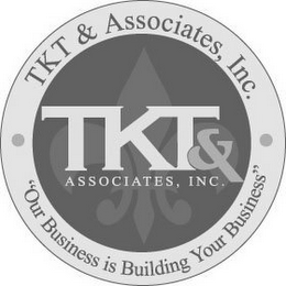 "mark for TKT & ASSOCIATES, INC. TKT & ASSOCIATES,INC. ""OUR BUSINESS IS BUILDING YOUR BUSINESS"", trademark #85446466"