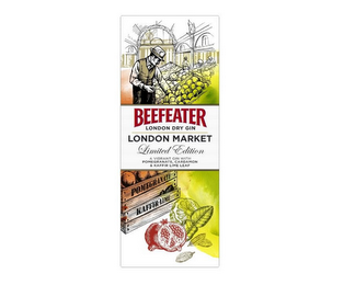 mark for BEEFEATER LONDON DRY GIN LONDON MARKET LIMITED EDITION A VIBRANT GIN WITH POMEGRANATE, CARDAMON & KAFFIR LIME LEAF, trademark #85446709