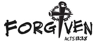 mark for FORGIVEN ACTS 13:38, trademark #85446724