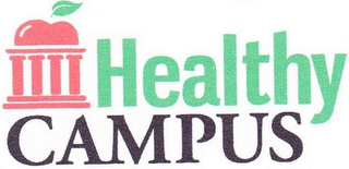 mark for HEALTHY CAMPUS, trademark #85446839
