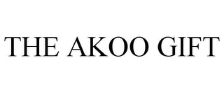 mark for THE AKOO GIFT, trademark #85447312