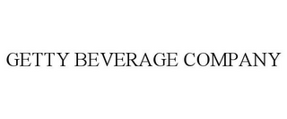mark for GETTY BEVERAGE COMPANY, trademark #85447340