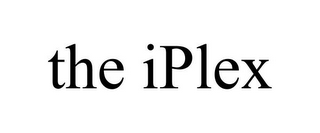 mark for THE IPLEX, trademark #85447444