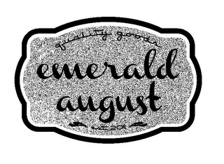 mark for QUALITY GOODS EMERALD AUGUST EST 2011, trademark #85447524