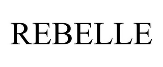 mark for REBELLE, trademark #85447564