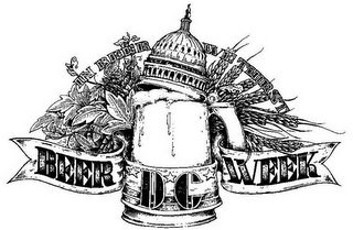 mark for DC BEER WEEK IN BEER WE THIRST, trademark #85447666