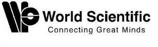 mark for WS WORLD SCIENTIFIC CONNECTING GREAT MINDS, trademark #85447725