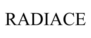mark for RADIACE, trademark #85448227