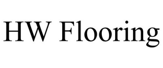 mark for HW FLOORING, trademark #85448761