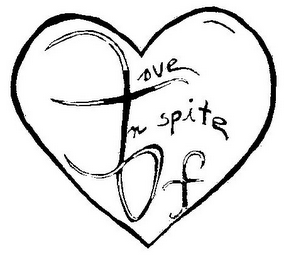 mark for LOVE IN SPITE OF, trademark #85448973
