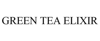 mark for GREEN TEA ELIXIR, trademark #85448992