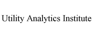 mark for UTILITY ANALYTICS INSTITUTE, trademark #85449138