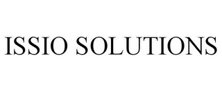 mark for ISSIO SOLUTIONS, trademark #85449192
