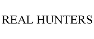 mark for REAL HUNTERS, trademark #85449676