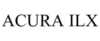 mark for ACURA ILX, trademark #85450236