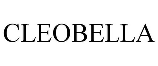 mark for CLEOBELLA, trademark #85450502