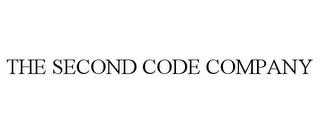 mark for THE SECOND CODE COMPANY, trademark #85450670