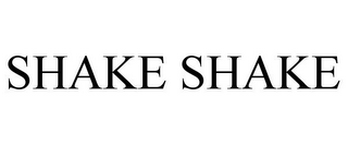 mark for SHAKE SHAKE, trademark #85450767