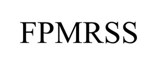 mark for FPMRSS, trademark #85451083