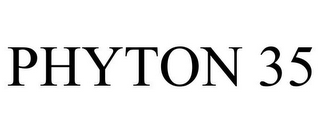 mark for PHYTON 35, trademark #85451121