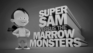 mark for SUPER SAM VERSUS THE MARROW MONSTERS, trademark #85451292