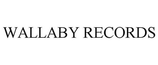 mark for WALLABY RECORDS, trademark #85451495