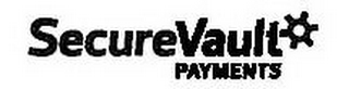 mark for SECUREVAULT PAYMENTS, trademark #85451672