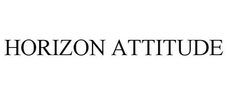 mark for HORIZON ATTITUDE, trademark #85451929