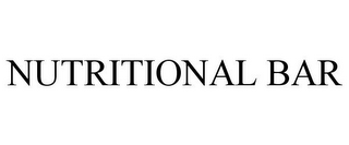 mark for NUTRITIONAL BAR, trademark #85452004