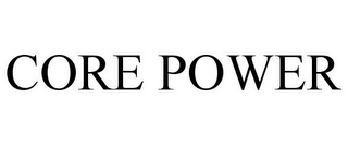 mark for CORE POWER, trademark #85452055