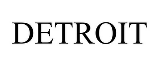 mark for DETROIT, trademark #85452393