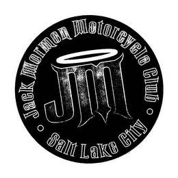 mark for JM JACK MORMON MOTORCYCLE CLUB SALT LAKE CITY, trademark #85452431