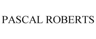 mark for PASCAL ROBERTS, trademark #85452639