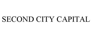 mark for SECOND CITY CAPITAL, trademark #85452650