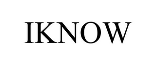 mark for IKNOW, trademark #85453043