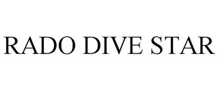 mark for RADO DIVE STAR, trademark #85453377