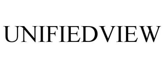 mark for UNIFIEDVIEW, trademark #85453544