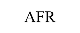 mark for AFR, trademark #85454089