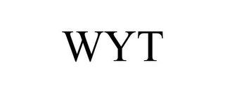 mark for WYT, trademark #85454196