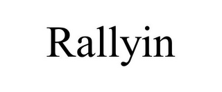 mark for RALLYIN, trademark #85454200