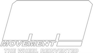 mark for M MOVEMENT THE WHEEL REINVENTED, trademark #85454801